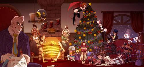 THE MORANDILAS CHRISTMAS EVE BASH by MTJpub
