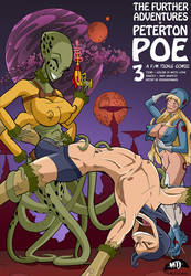 The Further Adventures of Peterton Poe 3 Cover by MTJpub