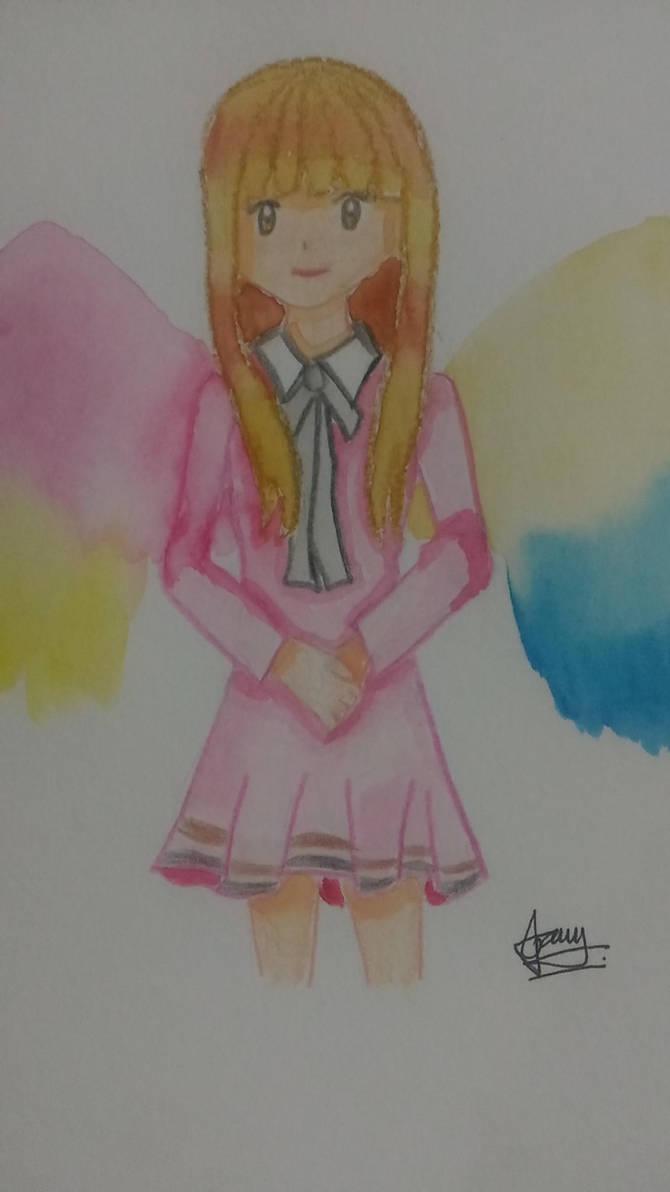 sweet angel by diredjakei