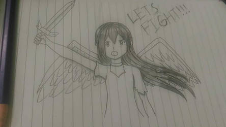 Let's fight !! by diredjakei