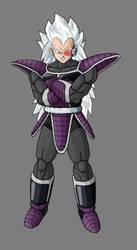 kaddish, brother of Vegeta V4 by alessandelpho