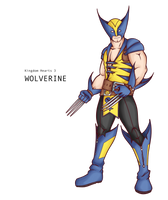 Wolverine, Kingdom hearts by alessandelpho