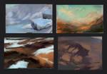 Rough landsc color key #002 by Zaelari