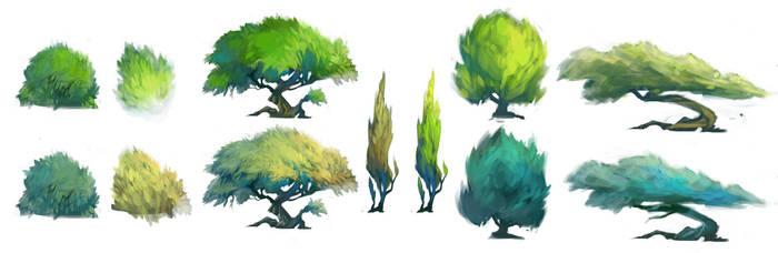 Trees Samples by Zaelari
