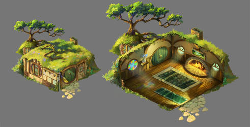 Hobbiton by Zaelari