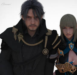 Final Fantasy XV - Lords by l3unni