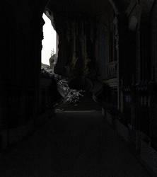 H e l l o Darkness my old friend .... by l3unni