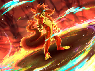 .:Fury of the Flame:. by SiscoCentral1915