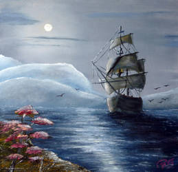 Moonlight Island by LuciferArcadia