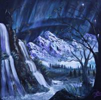Aurora Planet by LuciferArcadia