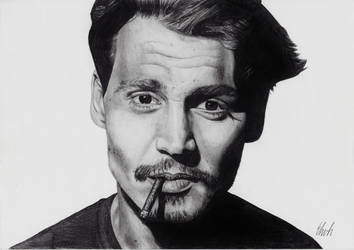 Johnny Depp by Ehvh