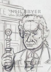 Doctor Who Sketch Cards WIP 3 by WombatOne