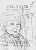 Doctor Who Sketch Cards WIP 6 by WombatOne