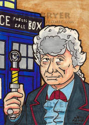 Doctor Who Sketch Cards 3 by WombatOne