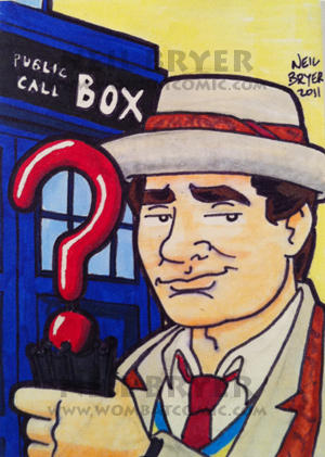 Doctor Who Sketch Cards 7 by WombatOne
