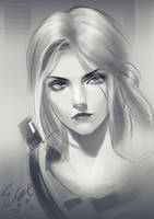 Ciri by elyoncat