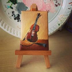 Josh's Violin by fesquishety