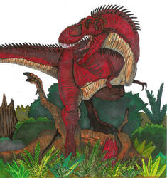 Tyrannosaurus Rex byHellraptor by All-Crazy-Reptiles