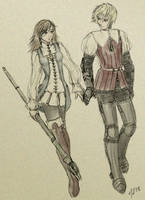 Refia and Ingus no 2 by Enkida