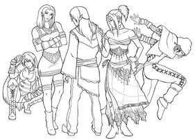 Commission Elves by Enkida