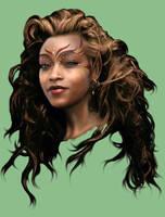 WIP Female Elf by Enkida