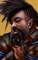 WIP Male Dwarf by Enkida