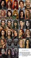 BG2 Portrait Pack v2 Mod NPCs by Enkida