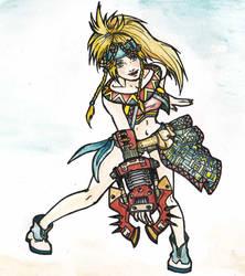 Rikku-kilika by Enkida