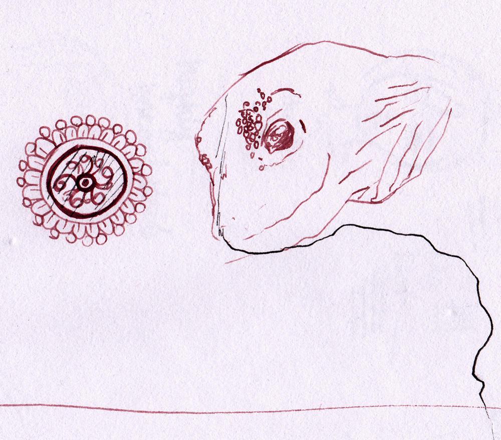 1st ink test: w/ fountain pen by Enkida