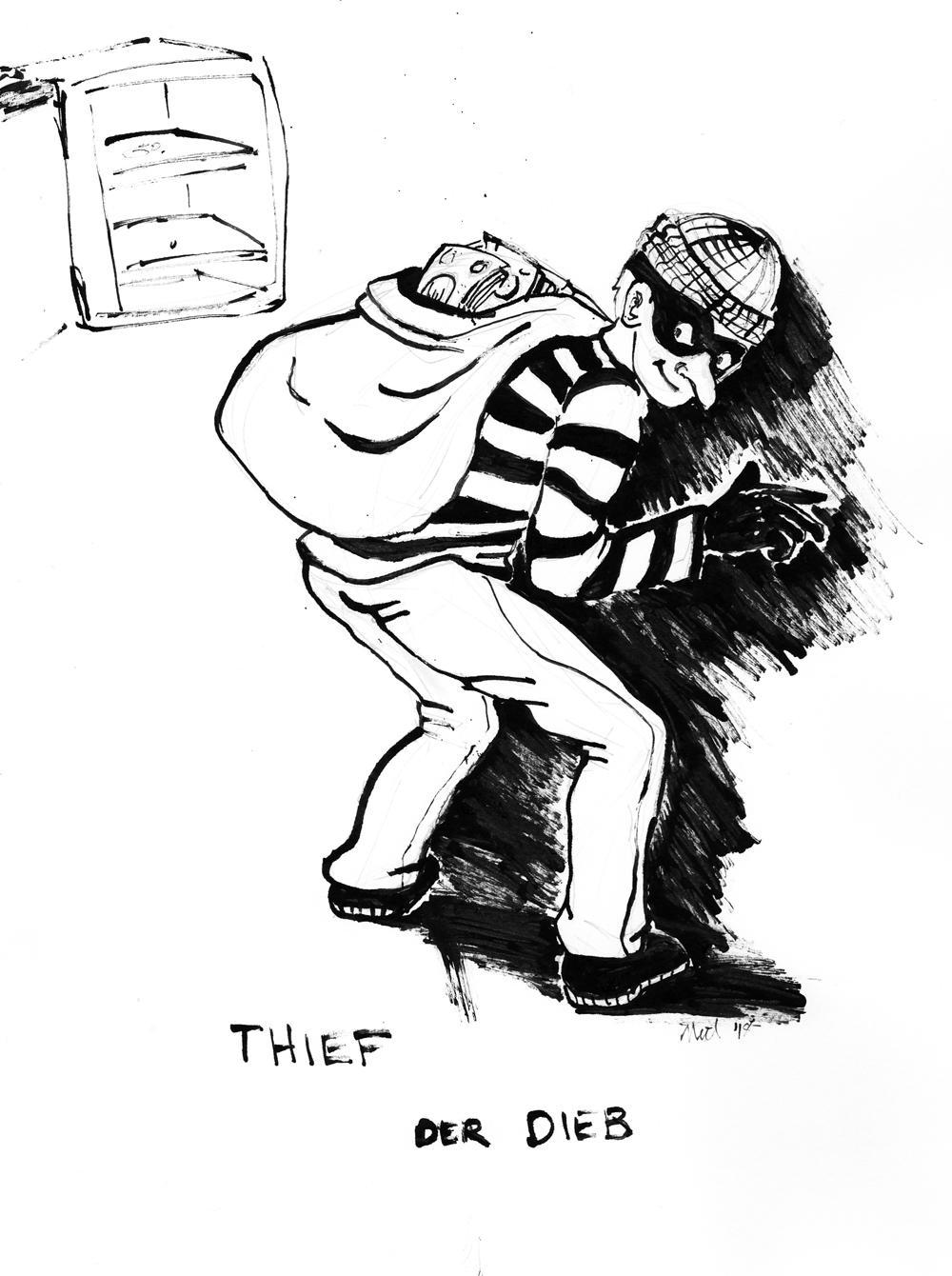 Thief sketch by Enkida
