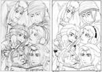 Christmas Card 06 sketch by Enkida