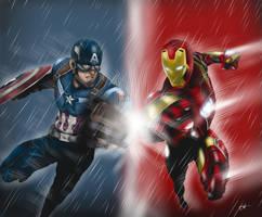Civil War by KennDraw