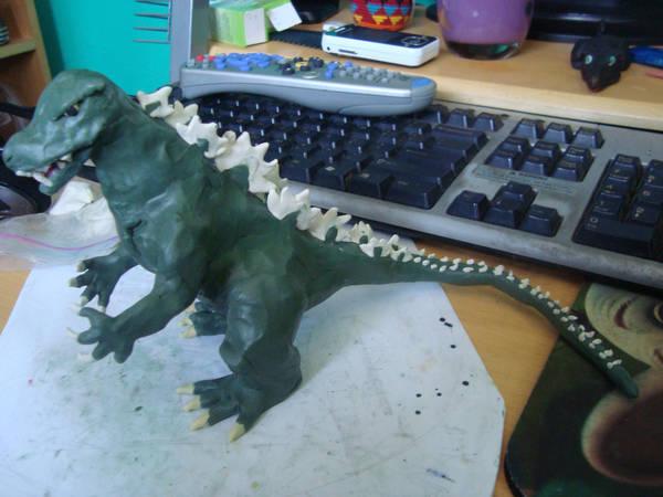 Godzilla Final Wars In Clay By Fullshock On Deviantart