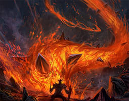 Lava Tentacle by GWhitehall