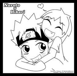CR 04: Naruto x Hikari by janni-chan