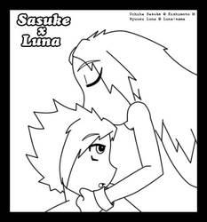 CR 10: Sasuke x Luna by janni-chan