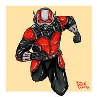 Ant-Man by eveneechan