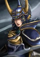Warrior of Light by eveneechan