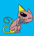 Gift good friend : ~Izzy-the-Kat 5 by Wakko2010