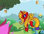 My friend Niki My Little Pony character by Wakko2010