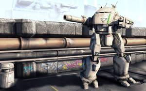 Battletech - UrbanMech by shortpainter