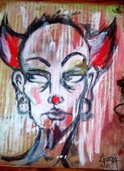 clownCLOWNclown by troll-wench