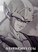 Piccolo at Peace by Schmedly