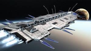 Colony Ship 'Horizon' by TMC-Deluxe