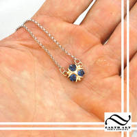 Petite Zora Sapphire Pendant by mooredesign13