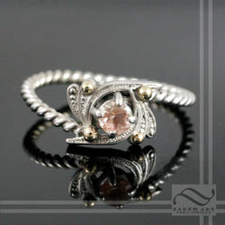 A new sunstone ring, Vintage Inspired by mooredesign13