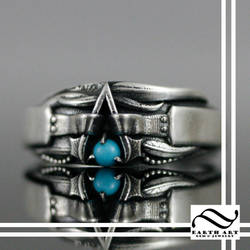 The Assassins Creed Native Assassin Ring by mooredesign13