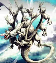 Ring Legged Dragon by Infernalfeather