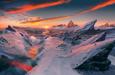 Abandoned Planet by rosikowski