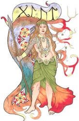 Glut - Daughter of Muspell by WintersKnight